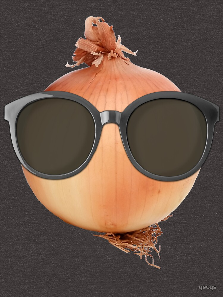 Onion Gifts > Funny Onion Wearing Sunglasses > Onion by yeoys