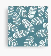 Tropical pattern 015 Canvas Print