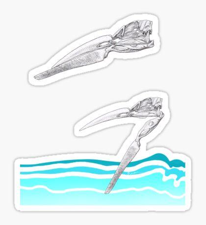 The Skimmer Sticker