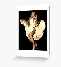 MARILYN MONROE : Vintage Movie Scene Print Greeting Card