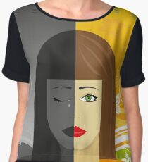 Mental Health Loneliness Anxiety Depression Awareness Chiffon Top