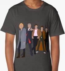 13th Doctor - Five Modern Doctors - Doctor Who Long T-Shirt