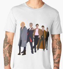 13th Doctor - Five Modern Doctors - Doctor Who Men's Premium T-Shirt