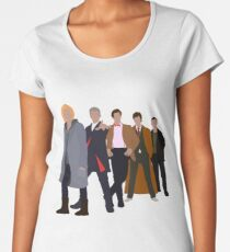 13th Doctor - Five Modern Doctors - Doctor Who Women's Premium T-Shirt