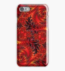 Floral ornament, intricate spirals and leaves iPhone Case/Skin