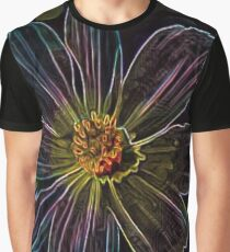 Neon flower  Graphic T-Shirt