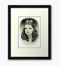 Dorothy wizard of oz judy garland Framed Print