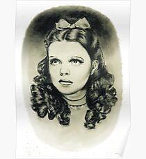 Dorothy wizard of oz judy garland Poster