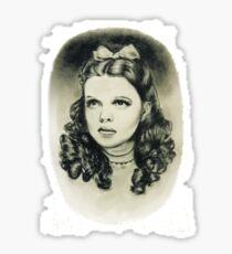 Dorothy wizard of oz Sticker