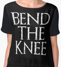 Bend The Knee  Women's Chiffon Top