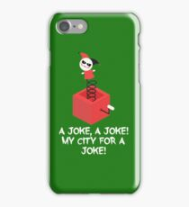 my city for a joke iPhone Case/Skin