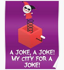 my city for a joke Poster