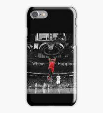 LeBron - Where **** Happens iPhone Case/Skin