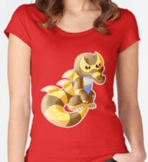 SN: Vincent - Shiny Krookodile Women's Fitted Scoop T-Shirt