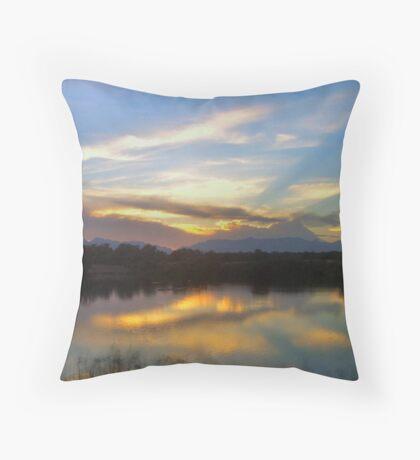 God's canvass Throw Pillow