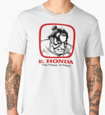 E. Honda - Street Fighter -  The Power of Slaps Men's Premium T-Shirt