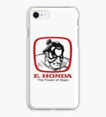 E. Honda - Street Fighter -  The Power of Slaps iPhone Case/Skin
