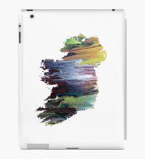 Colorful ireland silhouette iPad Case/Skin