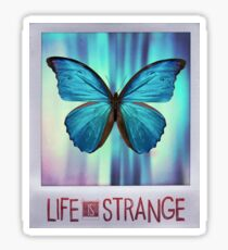 Life is Strange Butterfly Photo Sticker