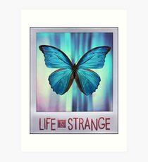 Life is Strange Butterfly Photo Art Print