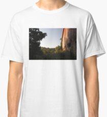 Rural Barn at Sunrise Classic T-Shirt