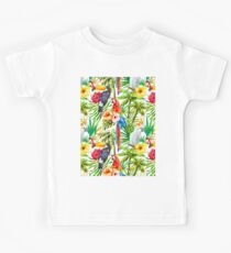 Tropical Parrot, Cockatoo and Toucan Rainforest Kids Clothes