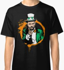 McGregor Uncle Sam Irish - (Orange Circle) Classic T-Shirt