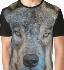 Timber Wolf Portrait Graphic T-Shirt