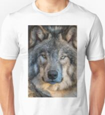 Timber Wolf Portrait Unisex T-Shirt
