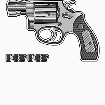 Pop Art Revolver by sarahmartin