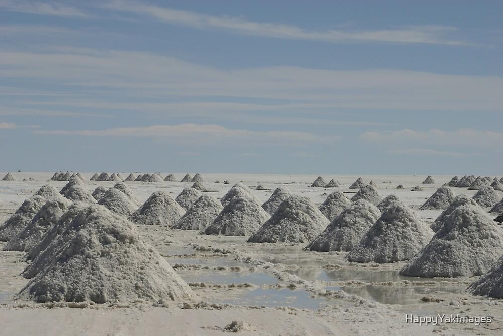 Uyuni Salt Flats by HappyYakImages