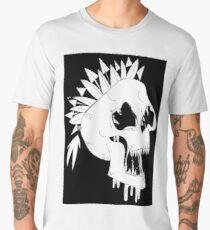 Skull Line Art Men's Premium T-Shirt