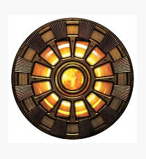 Steampunk Arc reactor Photographic Print