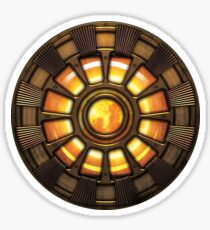 Steampunk Arc reactor Sticker