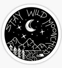 Stay Wild Moonchild  Sticker