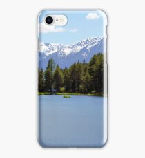 Lake in the Alps Tyrol iPhone Case/Skin