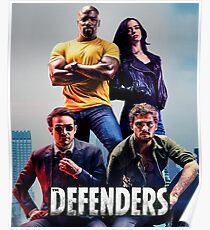 Netflix's The  Defenders T-shirt Poster