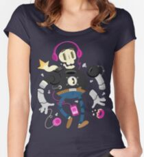 Just Walk & Enjoy Women's Fitted Scoop T-Shirt