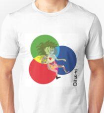 TRI-COLOR ANATOMY T-Shirt