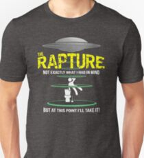Rapture AKA Alien Abduction - Funny Alien and UFO T-Shirt