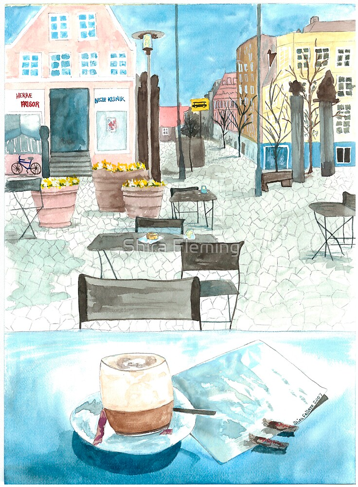 Coffee in Denmark  by Shira Fleming