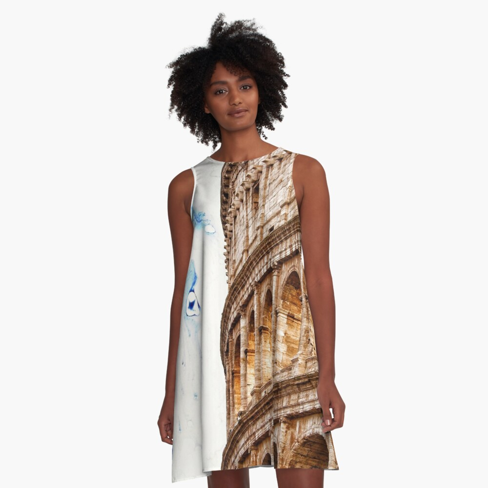 ROMAN ARENA A-Line Dress Front