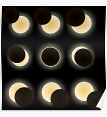 astronomy enthusiast astronomical events total solar eclipse  Poster