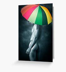 rainbow mike  Greeting Card
