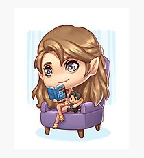 Feyre Reading Photographic Print