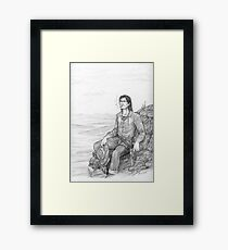 Roland of Gilead - The Gunslinger Framed Print