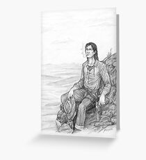 Roland of Gilead - The Gunslinger Greeting Card