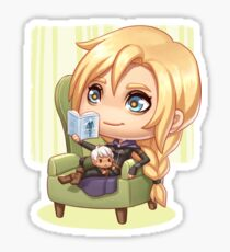 Aelin Reading Sticker