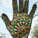 Mehndi Hand (2) by Neil Witney