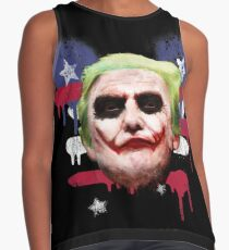 Donald Trump - The Joker. A Mickey Mouse President Contrast Tank